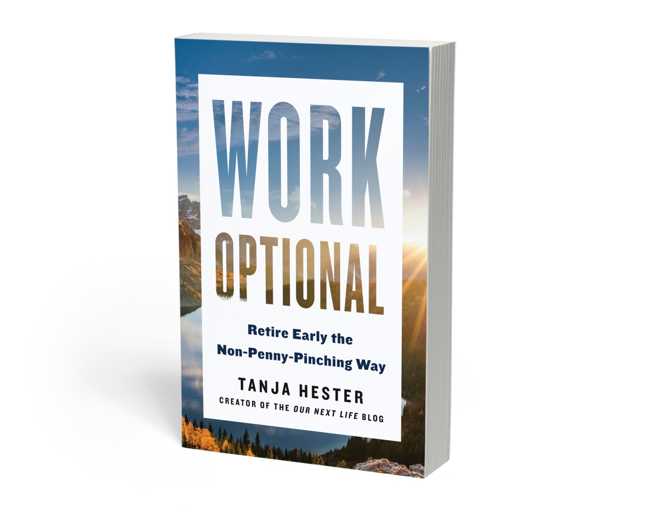 Work Optional: Retire Early the Non-Penny-Pinching Way by Tanja Hester, creator of the Our Next Life blog